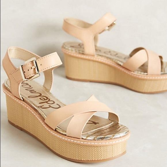 2c520316072c Sam Edelman Tina Platform Ankle Strap Sandals. M 5afdf4d43b16085a694d7b0d